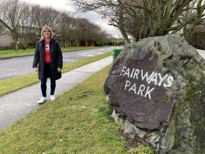 Fairways Park Cllr Sharon Tolan