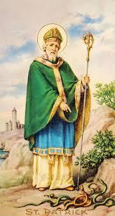 St Patrick painting