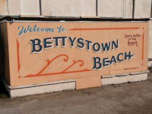 Bettystown Beach sign