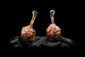 Cosce di pollo BBQ - Carne Online