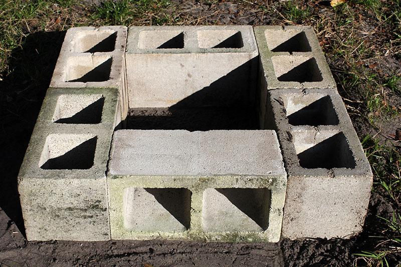 Cinder Block Fire Pit Plans