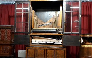 Newly restored 75 key Imhof & Mukle barrel orchestrion (c. 1887).