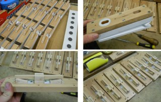 Manufacture of new Gavioli / Marenghi design Glockenspiel action motors.