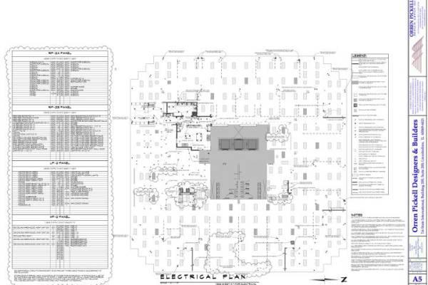 A5 Electrical Plan