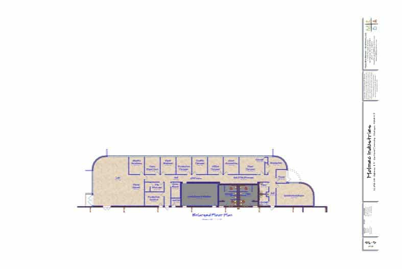 architectural office plan