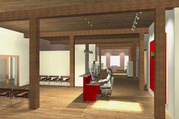 receptionist deck rendering
