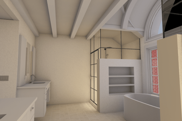 interior spa rendering