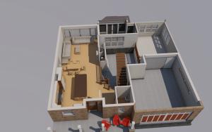 3d 1st floor plan