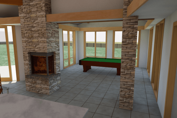 billiards rendering
