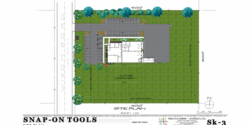 snapon site plan