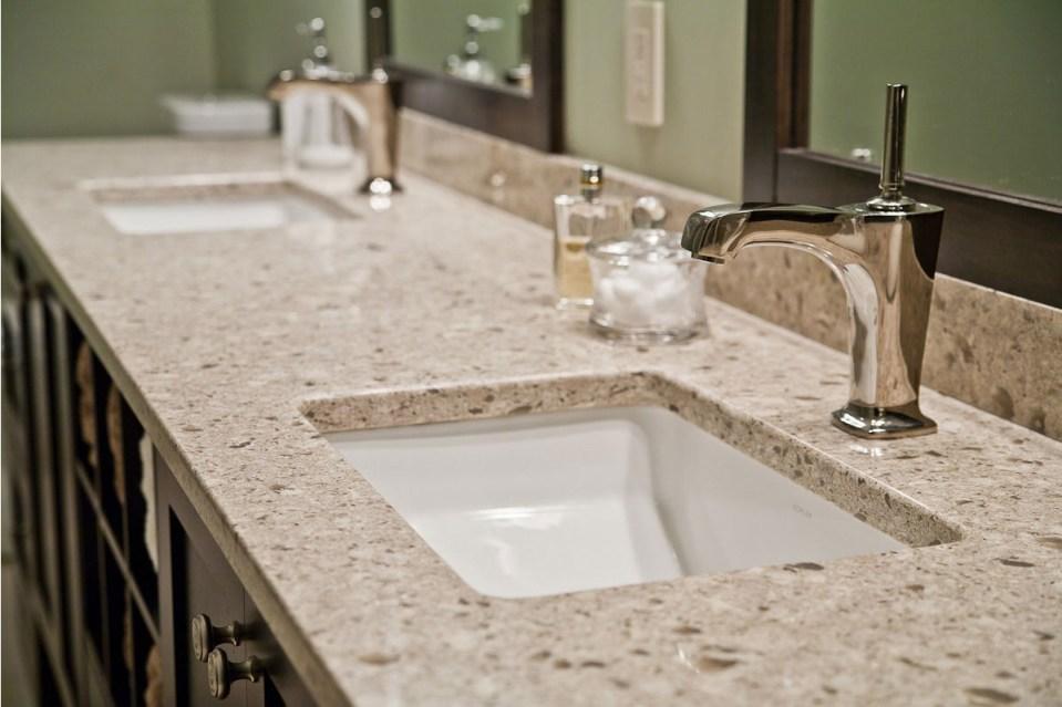 столешница из искусственного камня, столешницы из искусственного камня в ванную