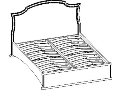 Кровать «Сильвия»  с6  160х200
