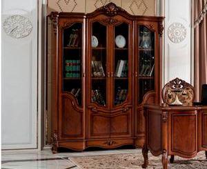 Шкаф книжный 4-х дверный