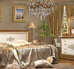 Спальный гарнитур Верона фабрика КМК мебель
