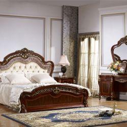 Спальня РОМЕО ROMEO 3288, с 4-дверным шкафом, орех с золотом