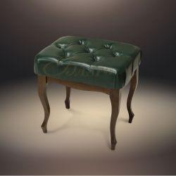 Банкетка-обувница с дверями Б5.2-4 Орех/Коричневый (к модулю Б5.10-3)