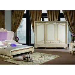 Спальня ДИАНА DIANA 907, c 6-дверным шкафом, слоновая кость