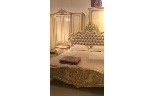 Спальня МИЛАНА MILANA 3886, с 4-дверным шкафом, слоновая кость