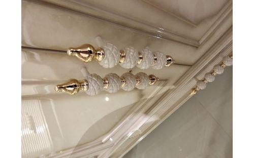 Спальня ДИАНА DIANA 907, c 3-дверным шкафом, слоновая кость