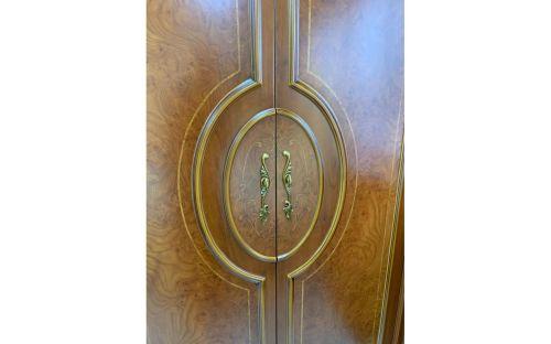 Спальня ФРАНЦИСКО FRANCISKO K03 B, с 4-дверным шкафом, орех