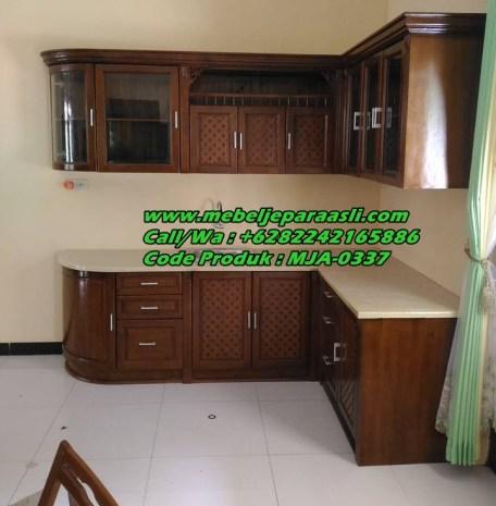 Kitchen Set Kayu Jati