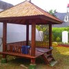 Gazebo Kayu Glugu Sumatera