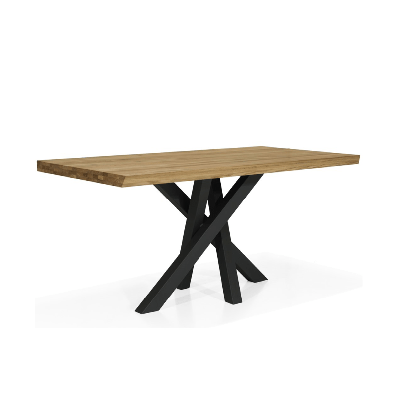 table design en chene massif senso