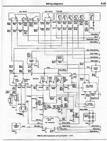 1984 Honda Aspencade Wiring Diagram, 1984, Get Free Image