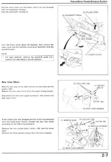 Honda Pc800 Wiring Diagram Honda Nx125 Wiring Diagram