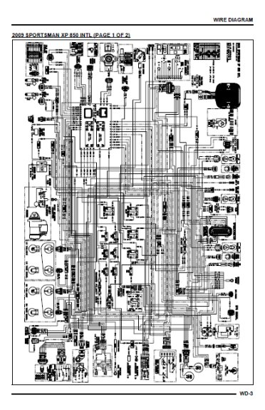 hyundai wiring diagrams diagram for switch and two lights polaris sportsman xp 850 -2009-2012 - boutique www.meca-passion.com