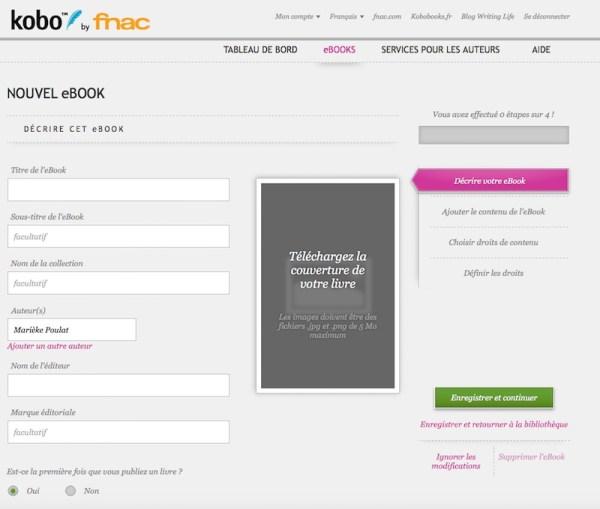 Kobo - Nouvel ebook 1