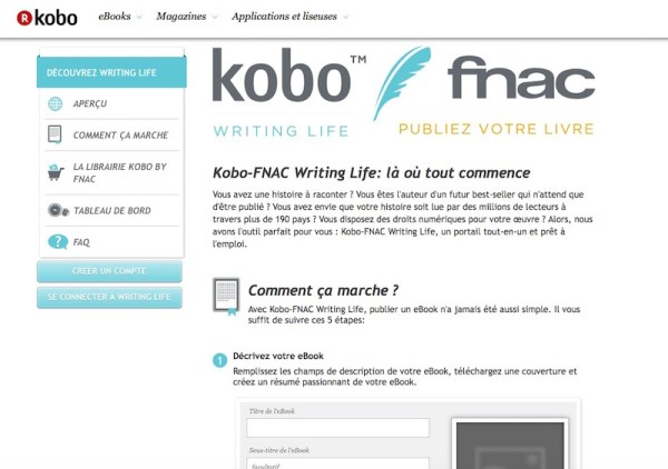 Le programme Kobo Wirting Life