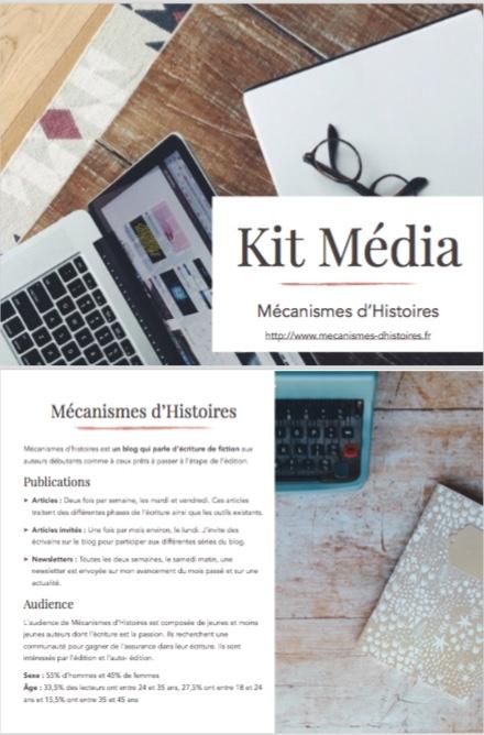 Mon kit média
