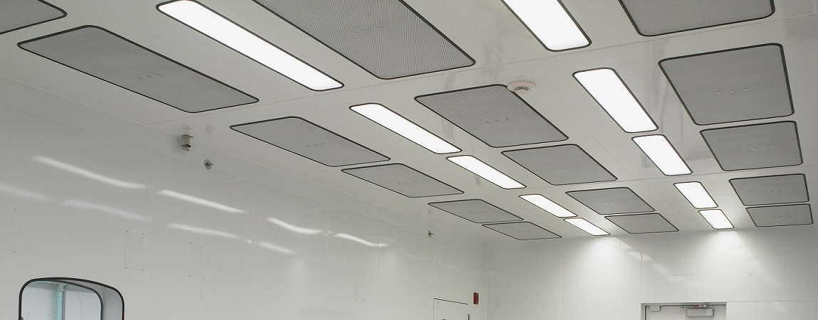 Walkable Ceilings for Cleanroom with Integrated Utilities