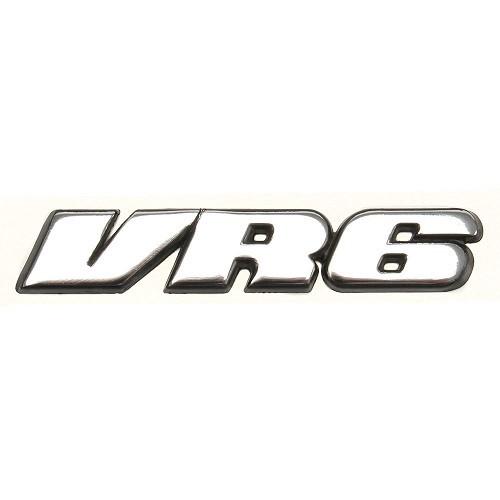 Logo VR6 chromé pour face arrière de Golf 3, Corrado et
