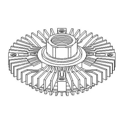 Viscocoupleur de ventilateur pour Audi A4 (B5) et A6 (C4