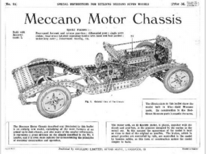 S01a Meccano Motor Chassis Reprint