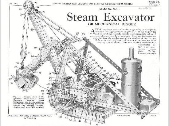 S19a Steam Excavator Reprint