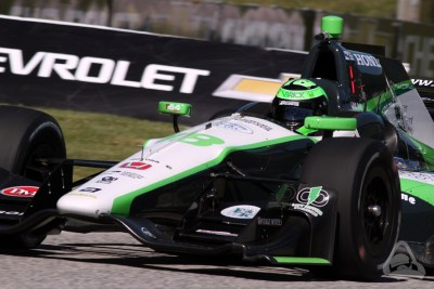 Conor Daly in Indycar at Road America