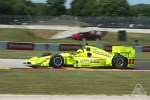 Simon Pagenaud Indycar at Road America 2016