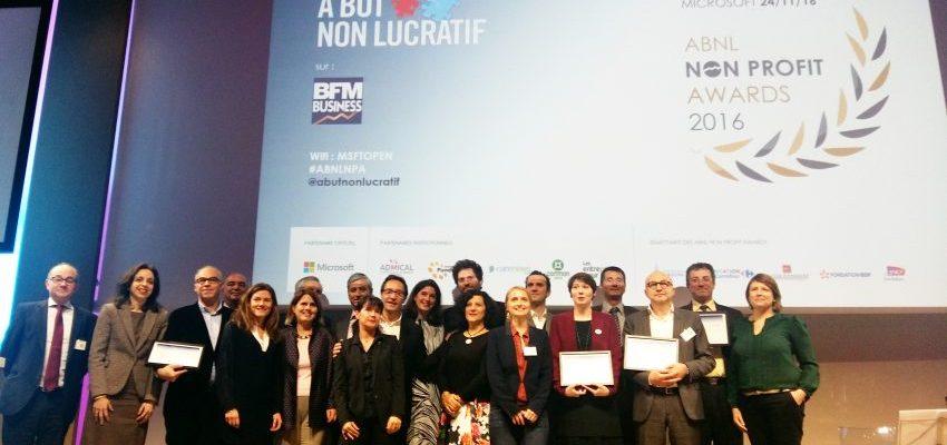 Photo Lauréats ABNL Non Profit Awards