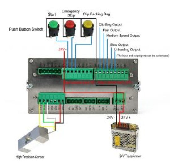 BZ8000 Wiring Diagram