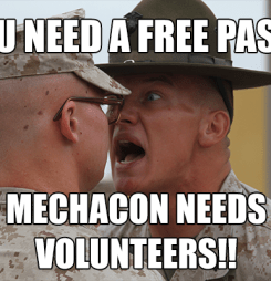 Team MechaCon Needs You!