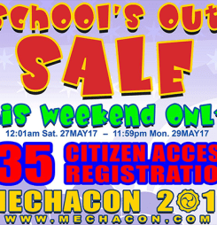 School's Out Sale!