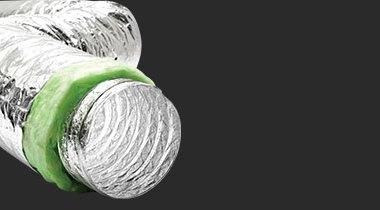 Ses ve Isı İzoleli Alüminyum Flexible Hava Kanalı SONOAFS