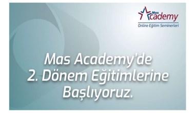 Mas Academy'de 2. Dönem Eğitimlerine Başlıyoruz!