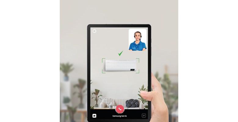 Samsung'dan klima alacaklara yeni hizmet: İnternet üzerinden görüntülü keşif!