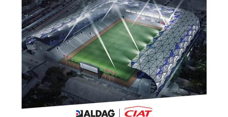 Alsancak Stadyumu Yapımında Ciat Soğutma Grupları ile Birlikte Aldağ Klima Santralleri ve Fancoilleri Tercih Edildi