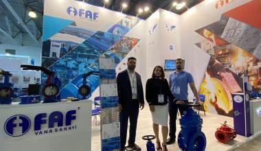 Ecwatech 2020 Fuarı'na Türkiye'den Katılan Tek Firma Faf Vana Oldu
