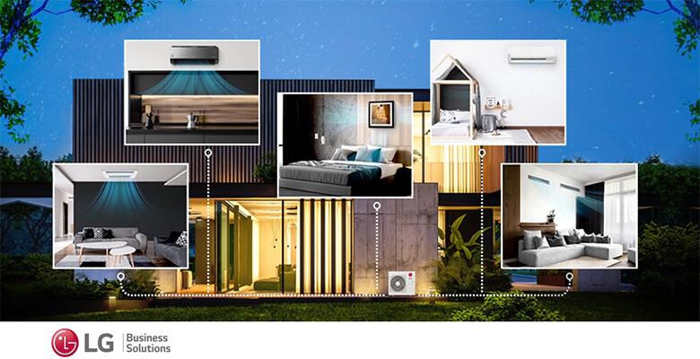 LG'den Multi Split Klima Seçenekleri